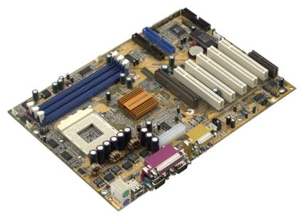ecsfsb800主板开机电路图