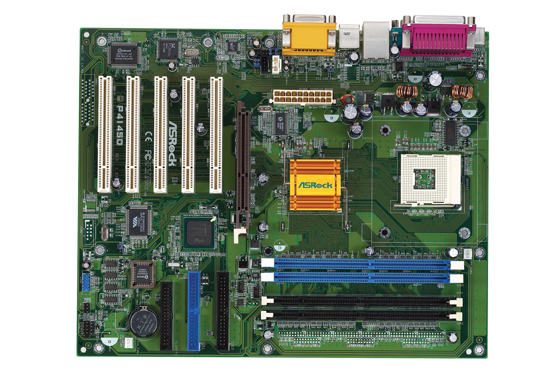 时下,英特尔的超线程技术已成为了业界讨论最热门的话题,但很多时候大家听到看到的只是文字叙述,真正的超线程技术产品市场上还很难找到。最近,华硕子公司华擎推出了一款支持超线程技术的845D主板(i845D B-Step架构芯片组):P4I45D。除了支持超线程技术以外,主板的其他规格也十分让人称奇。 P4I45D除了配备了2个184针的DDR SDRAM插槽以外,还配备了2个168针的SDR SDRAM插槽,可同时支持DDR和SDR内存,如此的规格在英特尔架构主板历史上可能好象还是第一次出现。其次,华擎还宣