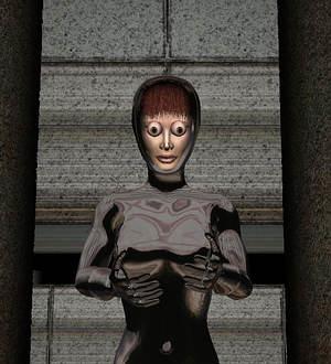 parhelia显卡让3d美女变僵尸!